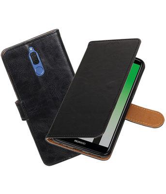 Hoesje voor Huawei Mate 10 Lite Pull-Up booktype zwart