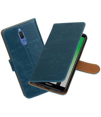 Hoesje voor Huawei Mate 10 Lite Pull-Up booktype Blauw