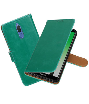 Hoesje voor Huawei Mate 10 Lite Pull-Up booktype Groen