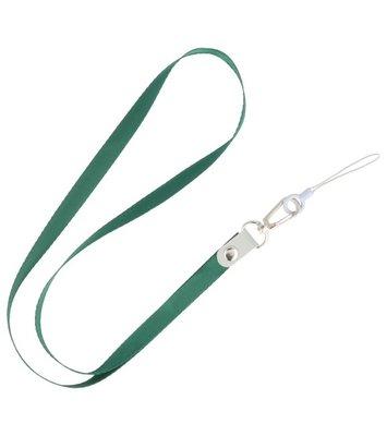 Keycord sleutelkoord voor hoesjes, pasjes of sleutels Donker Groen