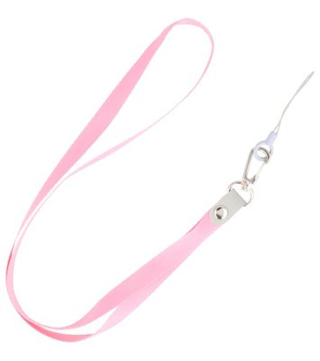 Keycord sleutelkoord voor hoesjes, pasjes of sleutels Roze