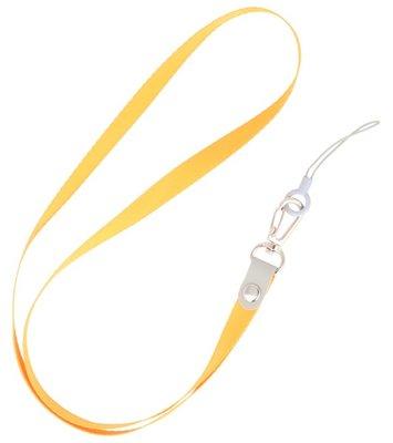Keycord sleutelkoord voor hoesjes, pasjes of sleutels Oranje