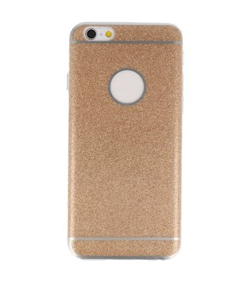 Hoesje voor Apple iPhone 6 / 6s Bling TPU back case Goud