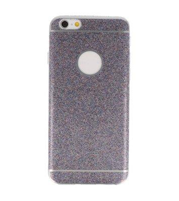 Hoesje voor Apple iPhone 6 / 6s Bling TPU back case Paars