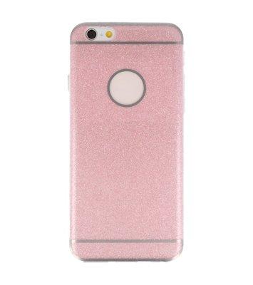 Hoesje voor Apple iPhone 6 / 6s Bling TPU back case Roze