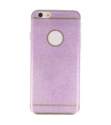 Hoesje voor Apple iPhone 6 / 6s Bling TPU back case Hotpink