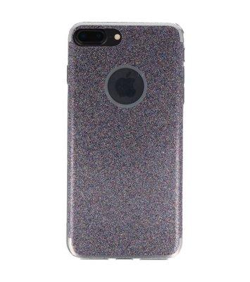 Hoesje voor Apple iPhone 7 / 8 Plus Bling TPU back case Paars