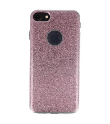 Hoesje voor Apple iPhone 7 / 8 Bling TPU back case Roze