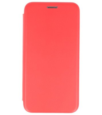 Rood Premium Folio leder look booktype Hoesje voor Apple iPhone X