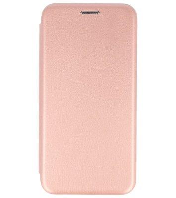 Roze Premium Folio leder look booktype Hoesje voor Apple iPhone X