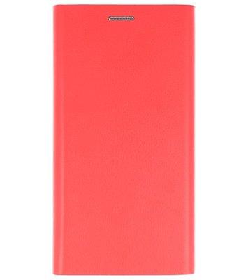 Rood Folio flipbook Hoesje voor Apple iPhone X