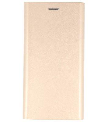 Goud Folio flipbook hoesje Samsung Galaxy J3 2017