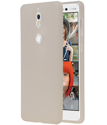 Wit TPU back case cover Hoesje voor Nokia 7