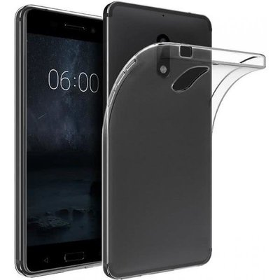 Transparant TPU back case cover Hoesje voor Nokia 7