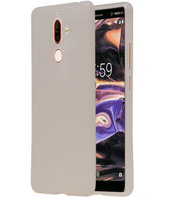 Wit TPU back case cover Hoesje voor Nokia 7 Plus
