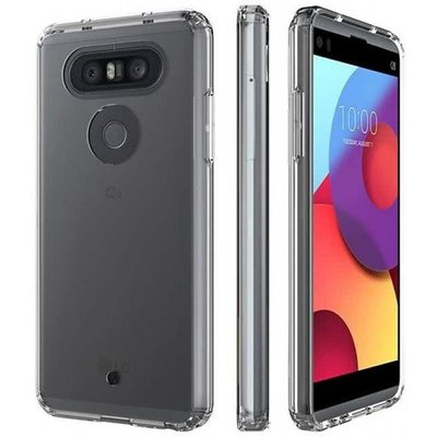 Transparant TPU back case cover Hoesje voor LG Q8