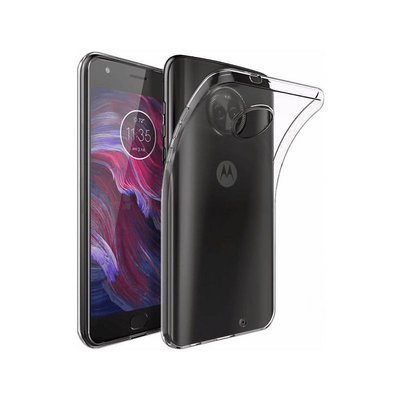 Transparant TPU back case cover Hoesje voor Motorola Moto X4