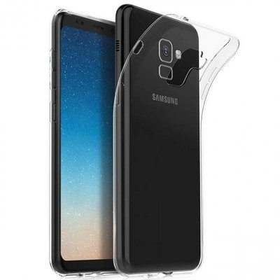 Transparant TPU back case cover Hoesje voor Samsung Galaxy A8 Plus 2018