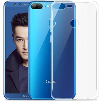 Transparant TPU back case cover Hoesje voor Huawei Honor 9 Lite