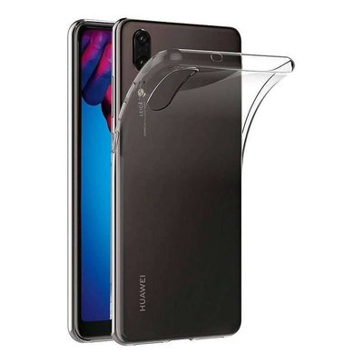 Transparant TPU back case cover Hoesje voor Huawei P20