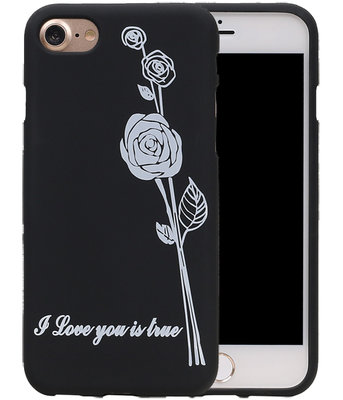 Roos TPU back case cover Hoesje voor Apple iPhone 7 / 8