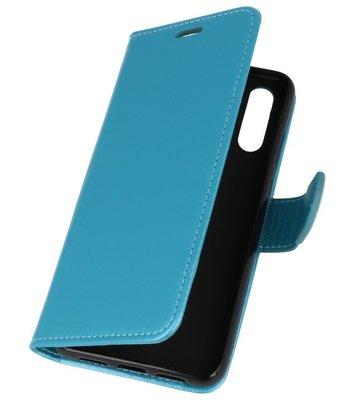 Turquoise Wallet Case Hoesje voor Huawei P Smart