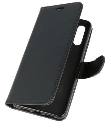 Zwart Wallet Case Hoesje voor Huawei P20