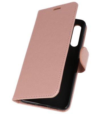 Roze Wallet Case Hoesje voor Huawei P20 Pro