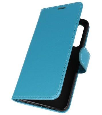 Turquoise Wallet Case Hoesje voor Huawei P20 Pro