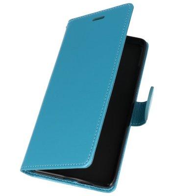 Turquoise Wallet Case Hoesje voor Nokia 7 Plus