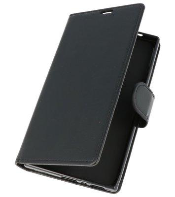 Zwart Wallet Case Hoesje voor Sony Xperia L2
