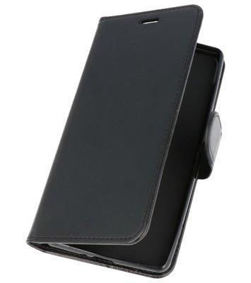 Zwart Wallet Case Hoesje voor Sony Xperia XZ2