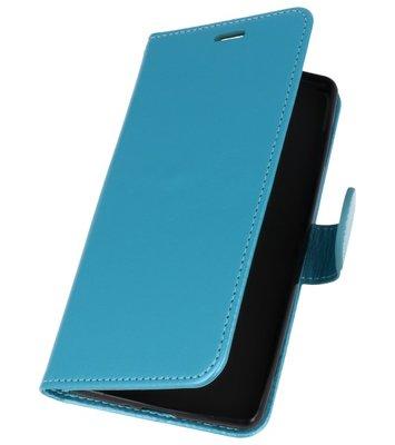 Turquoise Wallet Case Hoesje voor Sony Xperia XZ2