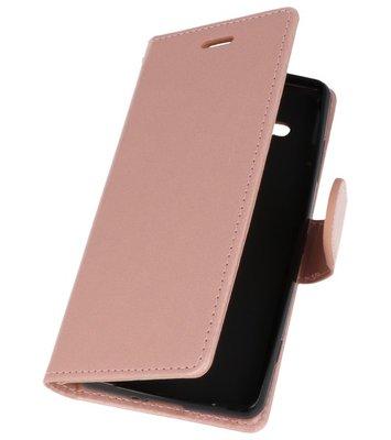 Roze Wallet Case Hoesje voor Sony Xperia XZ2 Compact