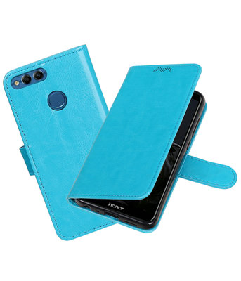 Turquoise Portemonnee Wallet Case Hoesje voor Huawei P Smart