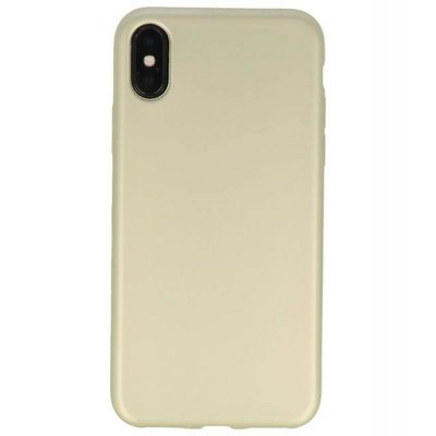 Goud Color back cover TPU Hoesje voor Apple iPhone X