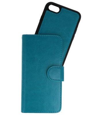 Blauw 2 in 1 Wallet Case Hoesje voor Apple iPhone 7 / 8