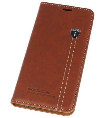 IHOSEN Bruin back case cover Hoesje voor Apple iPhone X