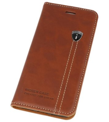 IHOSEN Bruin back case cover Hoesje voor Apple iPhone 7 / 8