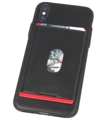 Zwart Hardcase cover Hoesje voor Apple iPhone X