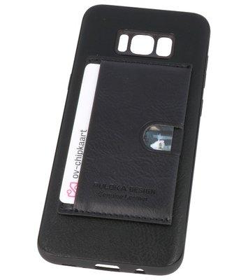 Zwart Hardcase cover Hoesje voor Samsung Galaxy S8 Plus