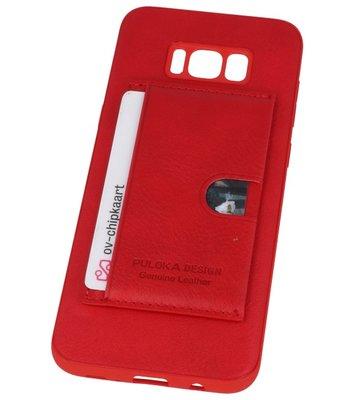Rood Hardcase cover Hoesje voor Samsung Galaxy S8 Plus