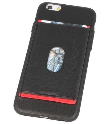 Zwart Hardcase cover Hoesje voor Apple iPhone 6s