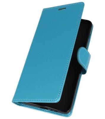 Turquoise Wallet Case Hoesje voor Motorola Moto G6 Plus