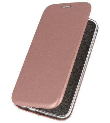 Roze Premium Folio Hoesje voor Huawei P20 Pro