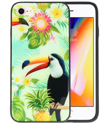 Toekan Tropisch Hardcase Cover Hoesje voor Apple iPhone 7 / 8
