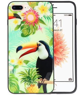 Toekan Tropisch Hardcase Cover Hoesje voor Apple iPhone 7 Plus / 8 Plus