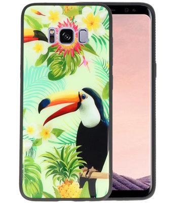 Toekan Tropisch Hardcase Cover Hoesje voor Samsung Galaxy S8