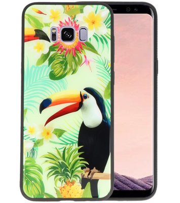 Toekan Tropisch Hardcase Cover Hoesje voor Samsung Galaxy S8 Plus