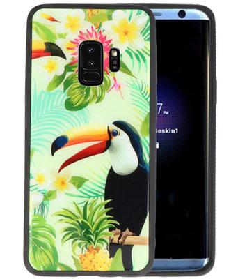 Toekan Tropisch Hardcase Cover Hoesje voor Samsung Galaxy S9